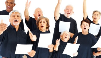 Image - senior citizens love to sing!